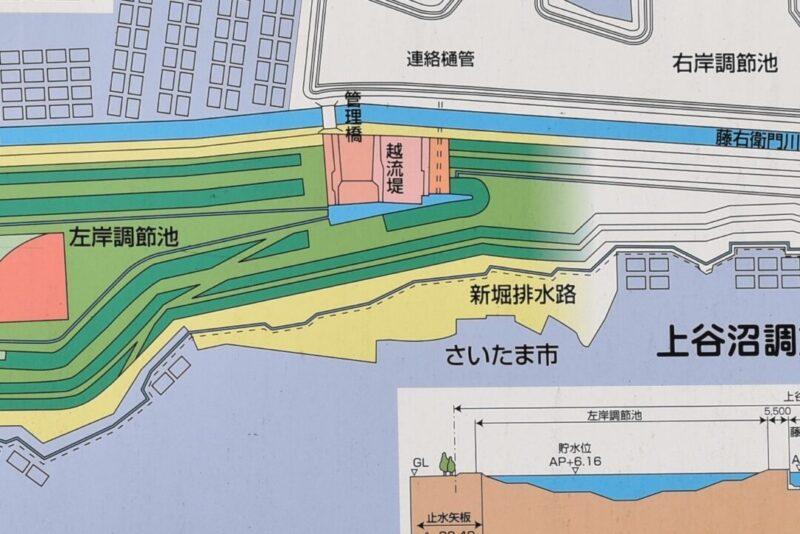 越流堤地図