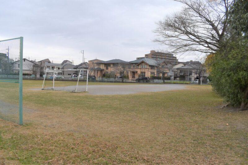 上谷沼‐2広場の景色