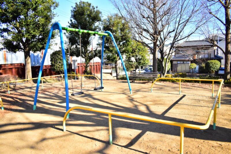 「芝原西公園」遊具