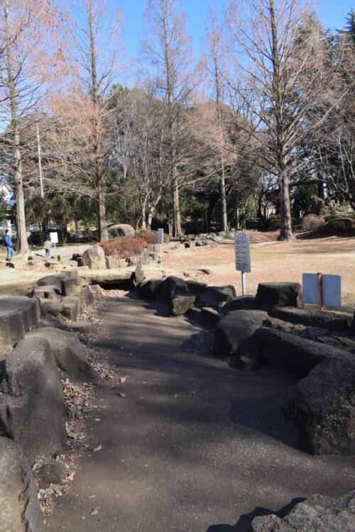 大崎公園のじゃぶじゃぶ池