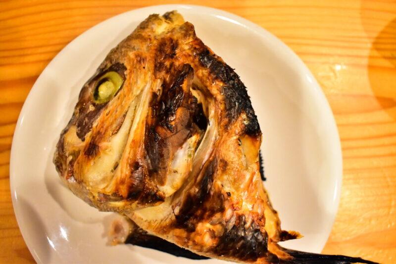 西野水産真鯛のカシラ