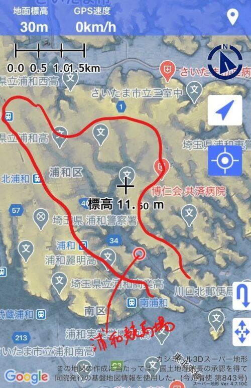 藤右衛門川マップ