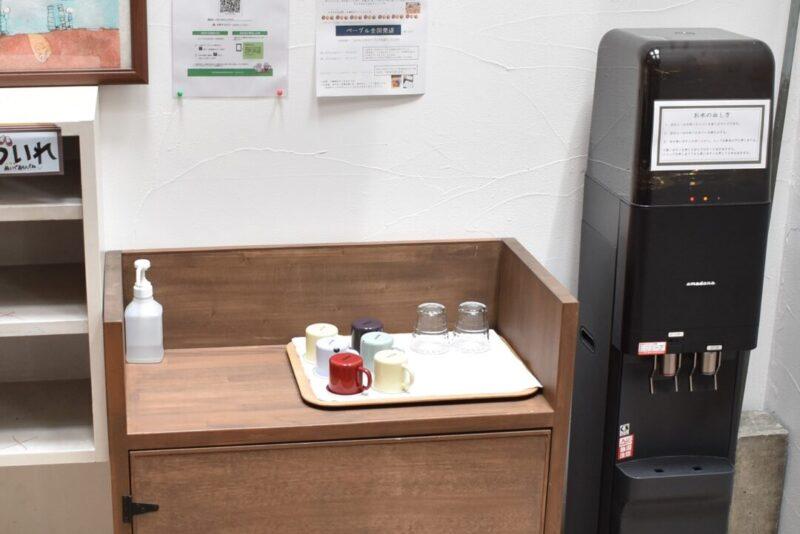 「こむぎ~BAGEL&COFFEE」内観