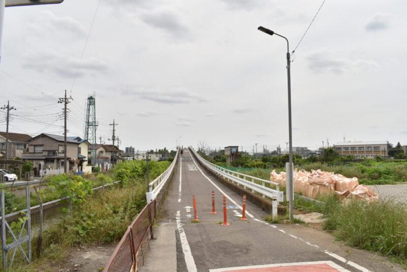 「JR東日本大宮総合車両センター東大宮センター(東大宮操車場)」の橋