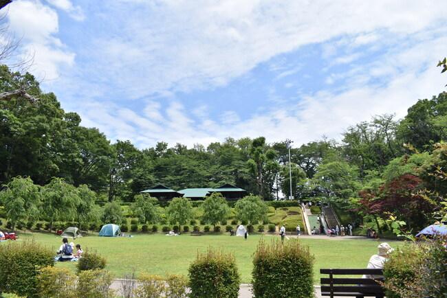 上尾丸山公園園内