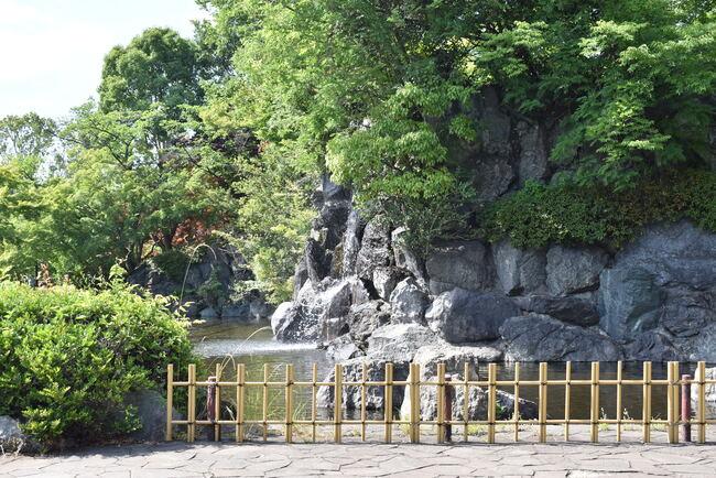 上尾丸山公園滝