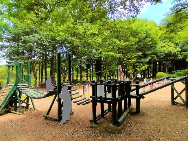上尾丸山公園アスレチック