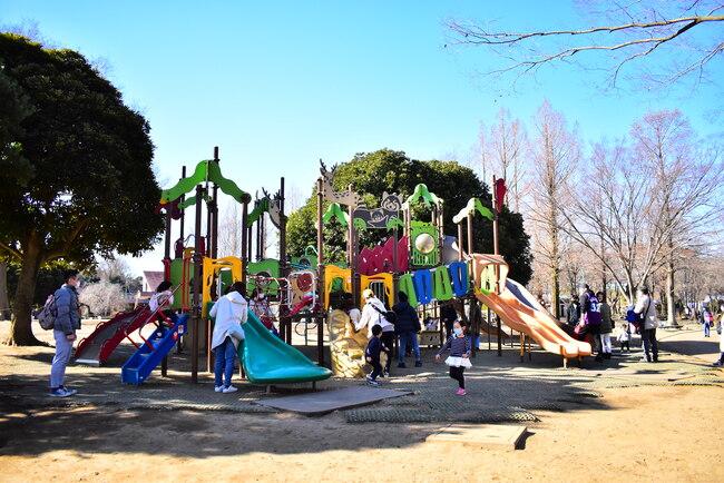 大崎公園複合遊具