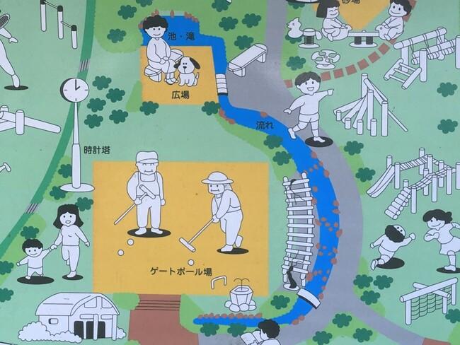 松芝公園マップ