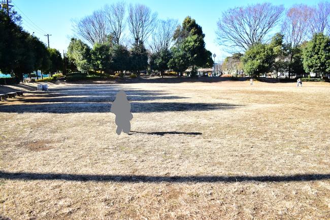 松芝公園の多目的広場