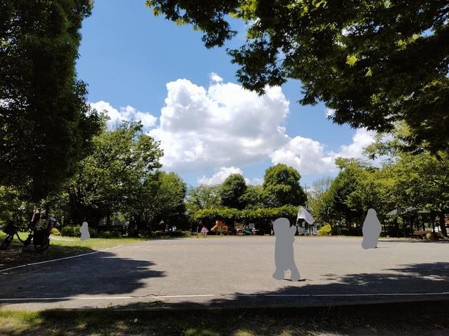 松芝公園のゲートボール場