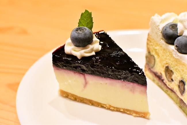 ミルティーユのブルーベリーレアチーズケーキ