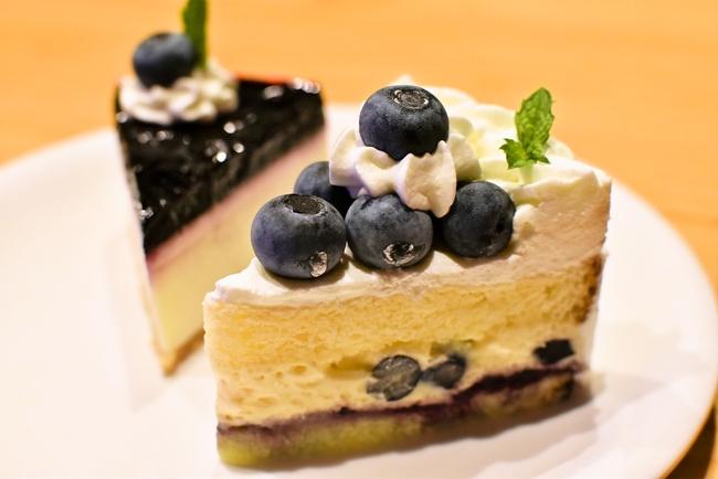 ミルティーユのブルーベリーショートケーキ