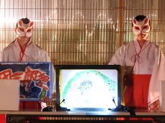 東武動物公園オータムナイトZOOの紙芝居