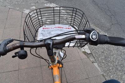 さいたま市コミュニティサイクルの自転車