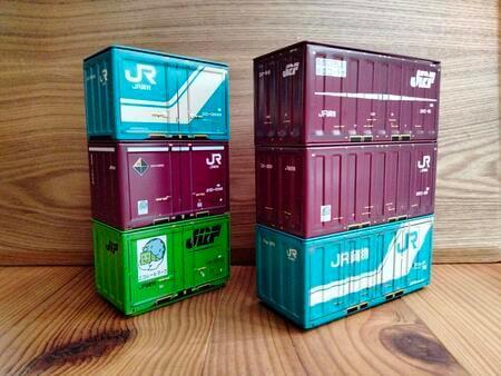 セリアのJR貨物コンテナボックス