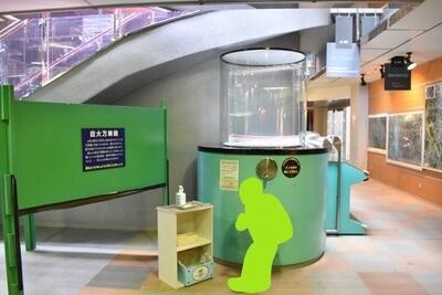 さいたま市青少年宇宙科学館の常設展