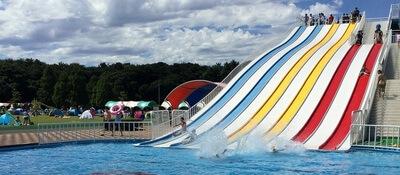 さいたま水上公園のスライダー